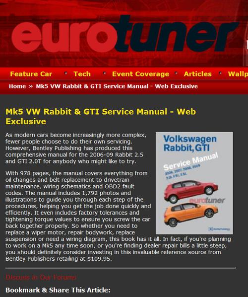 volkswagen rabbit service manual pdf